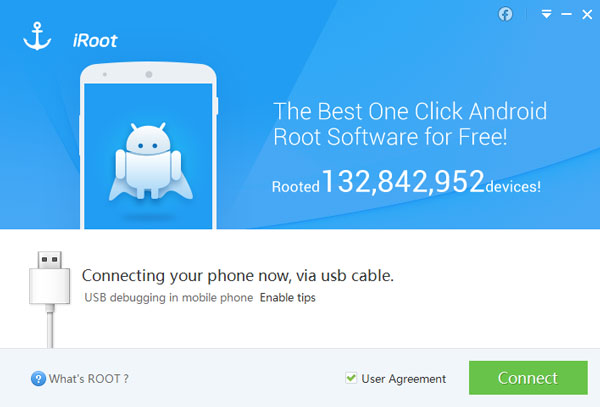 Rooter Android avec iRoot