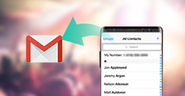 Synchroniser les contacts Android avec Gmail