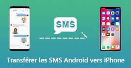 Transférer SMS Android SMS vers iPhone