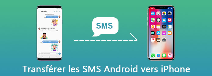 Transférer SMS Android vers iPhone