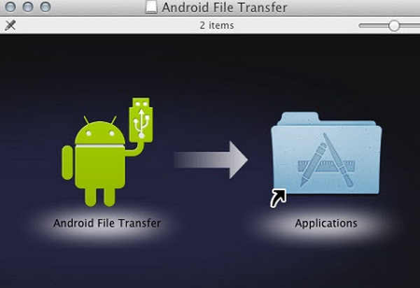 Installer Android File Transfer