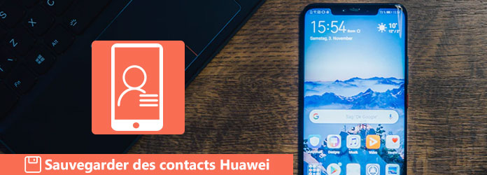 Sauvegarder des contacts Huawei