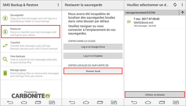 Guide simple de transférer les SMS depuis iPhone vers Android