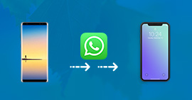 Transférer WhatsApp Android vers iPhone