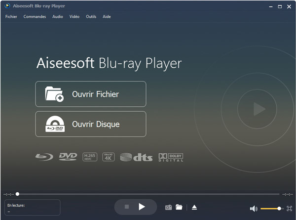 Ouvrir Blu-ray Player