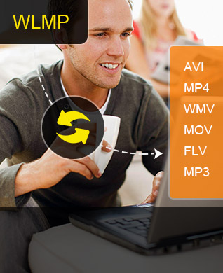 Convertir WLMP en AVI, MP4, WMV, MOV, FLV, MP3