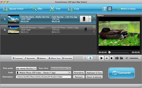 Professionnel Mac Video Converter