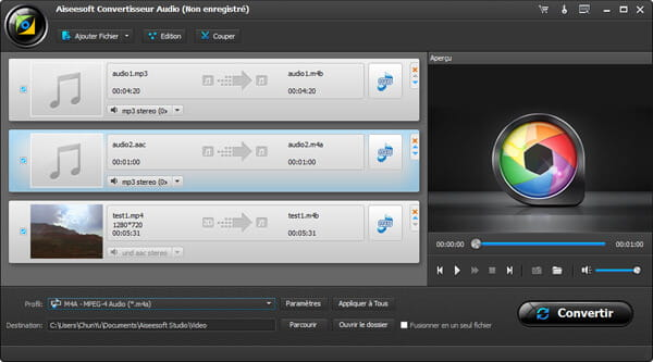 Convertisseurs <b>MP4</b> gratuits: <b>convertir</b> vidéos en <b>MP4</b>, <b>MP3</b>, MOV