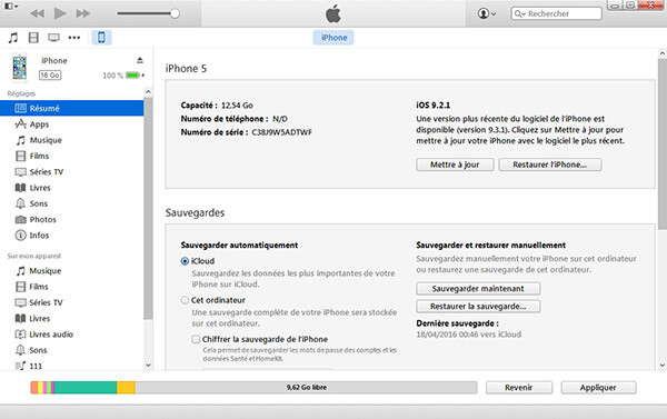 Restaurer un iPhone jailbreaké