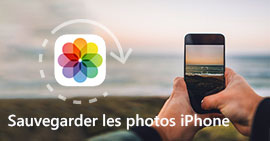 Sauvegarder des photos iPhone
