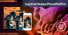 Supprimer musiques iPhone