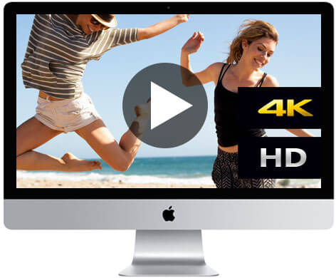 Support 4K and HD videos