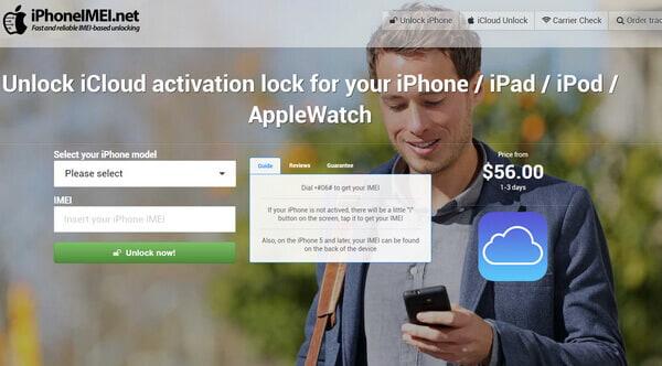 Débloquer iPhone iCloud avec IMEI