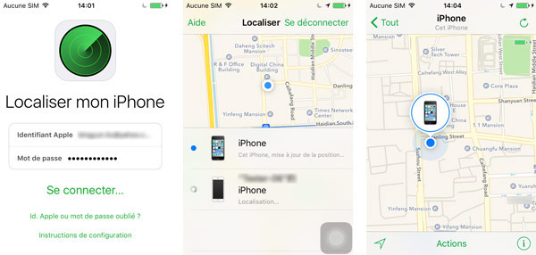 iCloud - Localiser mon iPhone, iPad et Mac - Apple (FR)