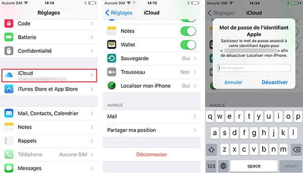 Comment Debloquer Iphone  Icloud
