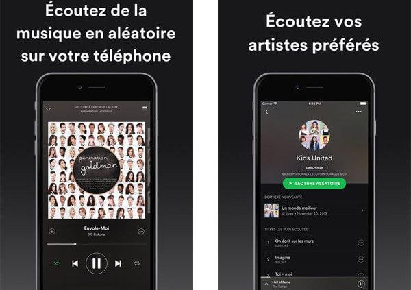 Top 8 des applications de musique gratuites pour iPhone