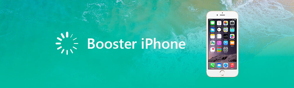 Booster iPhone lent