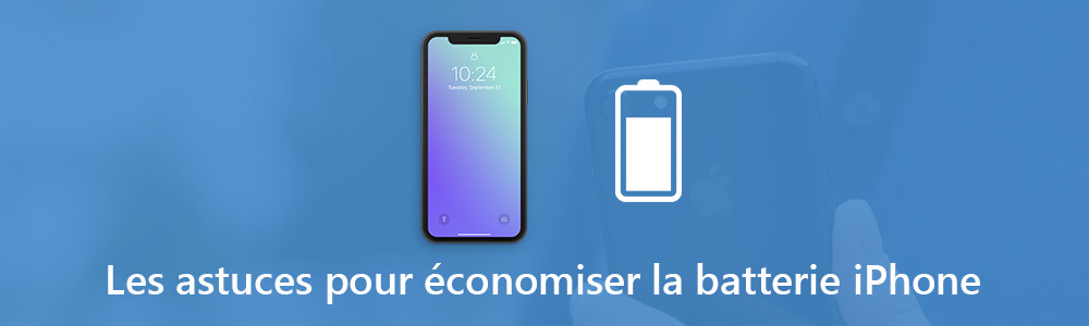 Economiser la batterie iPhone