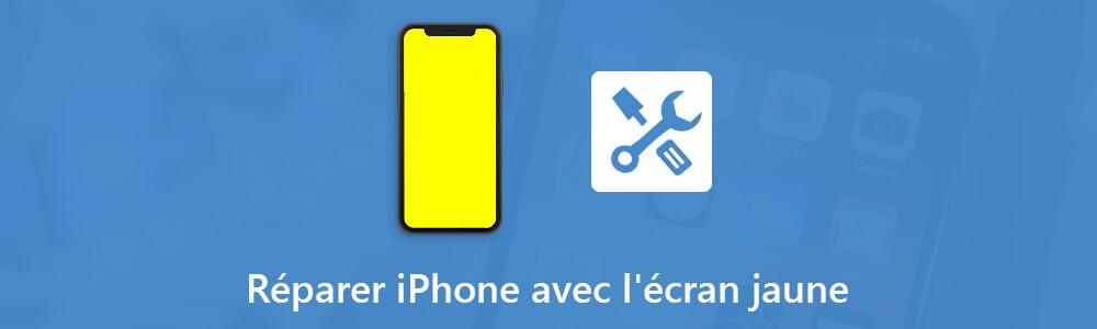 que faire pour iphone 6 7 avec cran jaune. Black Bedroom Furniture Sets. Home Design Ideas