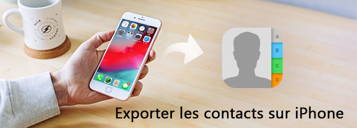 Exporter les contacts iPhone