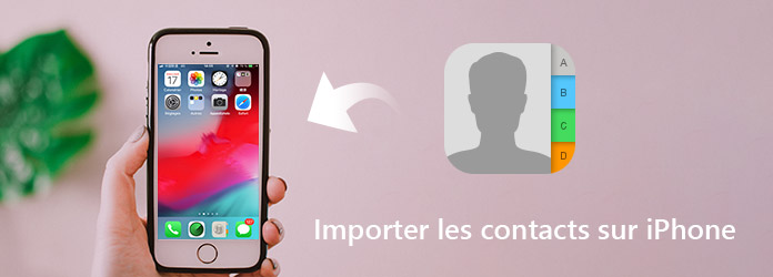 Importer contacts iPhone