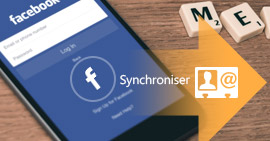 Synchroniser les contacts Facebook