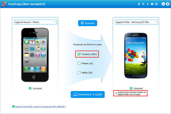 Comment Transferer Les Contacts Iphone Vers Samsung