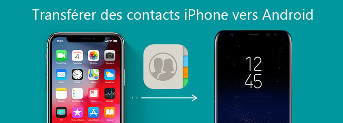 Transférer les contacts iPhone vers Android