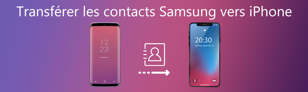 Transférer les contacts Samsung vers iPhone