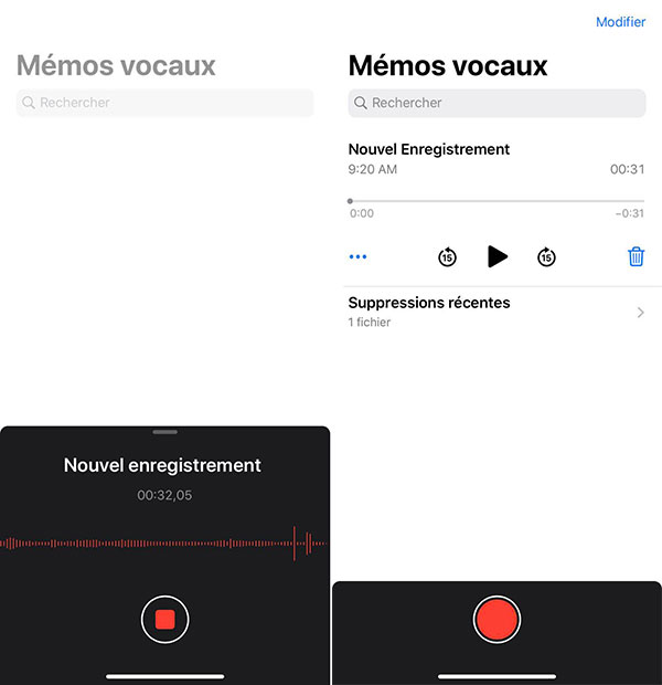 Mémo vocal