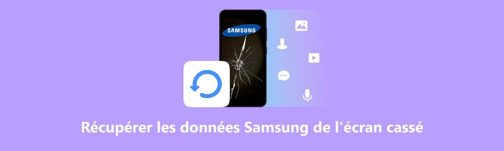 Résolu Comment récupérer les données depuis Samsung écran cassé