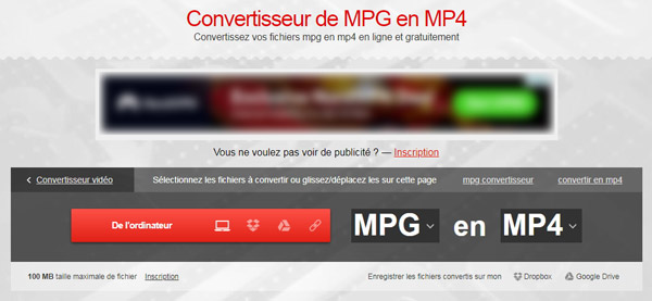 Convertio - MPG en MP4